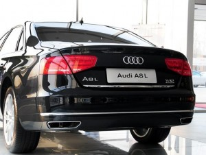 Audi A8 converts to W12